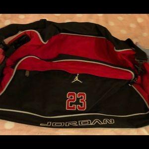 ab46c00b9534bb Vintage Jordan 23 Duffel Bag